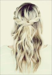 25 most beautiful and beautiful half down hairstyles – best pinterest blog