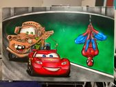 Custom piece #disney #marvel #marvelcomics #dccomics #cars #