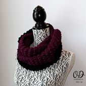 January Infinity Scarf – The Scarf a Month Club CAL
