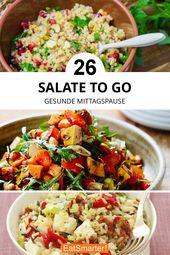 Illustrator Shortcuts  Salate to Go: Rezepte für die Mittagspause | eatsmarter.de #die #für #mittagsp...