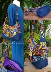Marichel Hobo Shoulder Bag PDF Stitching Bag Sample- Contains 2 Sizes – A  fast and straightforward sew – RLR Creations