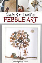 Pebble Artwork- Create a Tremendous Simple DIY Pebble Artwork Tree {Simple Artwork/Craft Concepts}