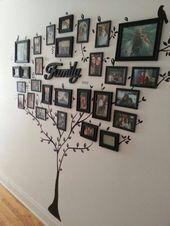 Mache deine eigene Fotowand: 66 wundervolle Ideen und Inspirationen- # Fotowand # Idee …   – Anbau Haus