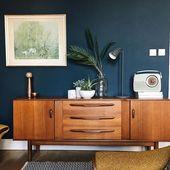 Mid Century Modern Living Room, mit neuem, unverwechselbarem Wohnstil – Haus Dekoration