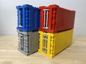Wie baue ich LEGO Train Frachtcontainer?   – LEGO Tips and Tricks