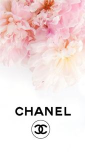 Chanel logo flowers iphone background – #iphoneachtergronden – #Background #Chan…