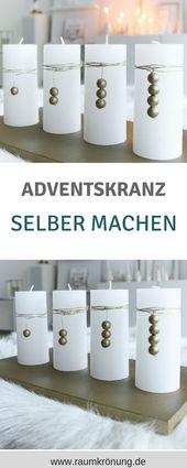Adventskranz, Adventskranz Alternativen, adventskranz selber machen, adventskran
