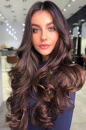 Cappuccino #brownhair #brunette ❤ Die Farbkarte für braune Haare ist Ihr Leitfaden, um …   – Интересные идеи макияжа.