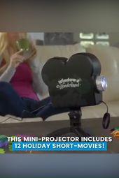 Window Wonderland Projector for Halloween & Christmas