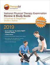 2019 National Physical Therapy Examination Review und Study Guide, 22. Ausgabe …   – Products