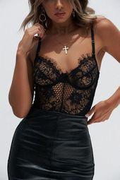 Ladies Underwear Jumpsuit Bodysuits – Miss.Be
