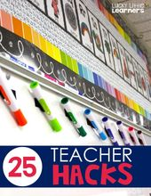 25 Trainer Hacks for a Profitable Classroom – Fortunate Little Learners