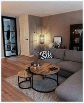 ✔️ 98 petites idées de décoration de salon agrandissez votre pièce avec …   – Lilet Vardagsrum