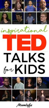 TED Talks for teenagers: Inspiring, uplifting and nice dialog starters