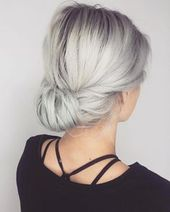Simple & Elegant hairstyle - October 19 2019 at 08:12PM