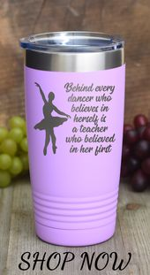 Dance instructor appreciation presents – Dance presents for ladies – Reward for dancer – Dance instructor tumbler cup – Dance quote mug – Dancing presents