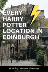 Every Harry Potter location in Edinburgh that you need to visit