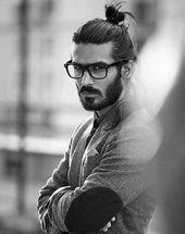 40 samurai hairstyles for men – modern masculine man bun – # bun # hairstyles #for #man # men