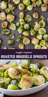 With a touch of spicy and lots of sticky-sweet maple syrup, these are the best r…   – Brussels sprouts