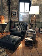 60 Bachelor Pad Möbel Design-Ideen für Männer – Masculine Interiors