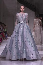 Ziad Nakad Look 12. Fall Winter 2019/2020 Haute Couture Assortment