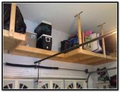 Garage Overhead Storage Diy Wood…