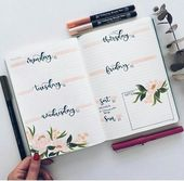 20 Bullet Journal Weekly Spread Ideas You'll Want To Try