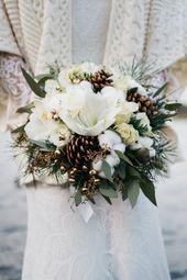 Ideen für eine Weihnachtshochzeit   – Winter Hochzeit