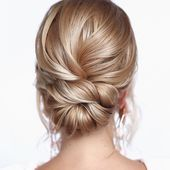 25 Best Mid-Length Updos – Medium length hair is long enough to sweep and will look prettier in loads of updos. …