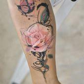 Más de 50 ideas para tatuajes de rosas: el símbolo del amor verdadero   – Alle Tätowierungen