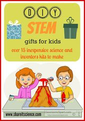 Share it! Science News : DIY STEM Gifts For Kids. Inventors boxes, science kits,... 2