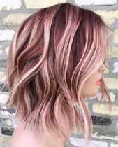 10 kreative Haarfarbe Ideen für mittellanges Haar
