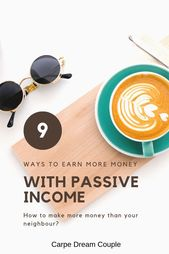 Passive Income – 9 Ways to earn more money – #Earn…