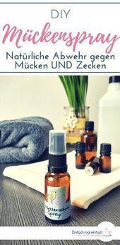 #Hautpflege-Rezepte-DIY Mückenspray   – Mari pezu-#Hautpflege-Rezepte – #Hautpf…