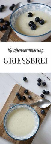 Grießbrei Rezept: Einfach und lecker