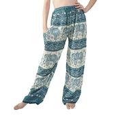 Frauen Elefant lange lose Pyjama PJ Schlaf Bottoms Hosen – Sea Green – C512NUC4 …
