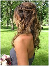 Braid-Half-Up-Do # Braid #diyfrisuren