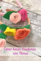 Cómo Hacer Diademas Con Flores