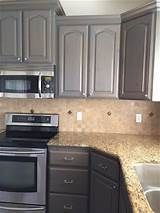 Gray Gel Stains For Oak Cabinets Yahoo Image Search Results Stained Kitchen Cabinets Gray Stained Cabinets Staining Cabinets