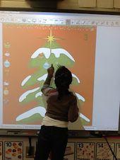 Kleine Fräulein Glamour geht in den Kindergarten: Weihnachten Mathe. – Christmas