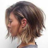 Schön Frisuren Frauen Hinten Kurz Vorne Lang
