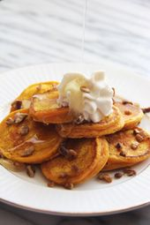 Mini Pumpkin Pancakes – Frühstücksrezepte – #Breakfast # MiniPumpkin Pancakes   – Make Good Things