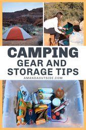 Car Camping Organization: Camp Gear Storage Tips and Hacks – Amanda Outside