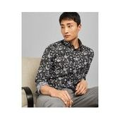 Cotton shirt with floral print Ted BakerTed Baker