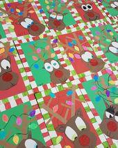 2nd grade Rudolph's! So stinkin' cute! #elementaryschool #elementaryart #art #ar… – Weihnachten