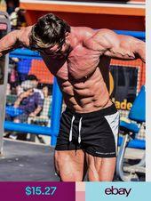 rongweiwang Sommer-M/änner Shorts Kalb L/änge Fitness Bodybuilding Fitnessstudios Jogger Short Herren Lauf Kurze Hose Hosen Jogginghose Laufhose