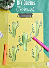 Aktualisieren Sie eine einfache Zwischenablage mit einigen Schablonen und malen Sie, um …   – Crafts with colleagues