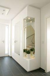 Cloakroom with shoe regulations modern hallway, hallway & staircase from raumwerk-tischlerei gmbh modern | homify