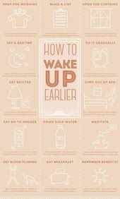 gurl: 15 conseils pour bien se réveiller et améliorer ses matinées – DIY Déco