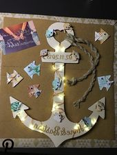 Hochzeitsgeschenk Anker #hochzeitsgeschenk #anker #holz #hochzeit #geldgeschenk - #Anker #Geldgesche - Hochzeitsgeschenk